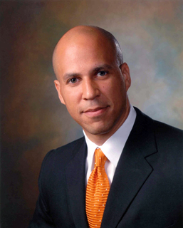 Newark Mayor Cory Booker photo